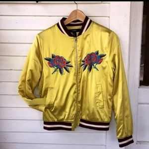 Forever 21 yellow jacket